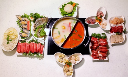 $12 for $20 Worth of Hot-Pot and Chinese Food at Happy Cow Hot Pot