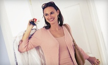 Dry-Cleaning for a Comforter or $12 for $25 Worth of Dry-Cleaning Services at Holiday Dry Cleaners