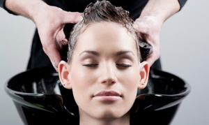 Haircut, Conditioning, Scalp Massage & Optional Partial Highlights With Chris Buxton At Article 5 Salon (up To 68% Off)