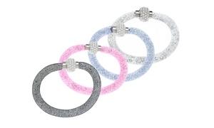Stardust Wrap Bracelet With Swarovski Elements