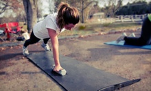 Boot-Camp Package at Be Fit Boot Camps (Up to 91% Off). Three Options Available.