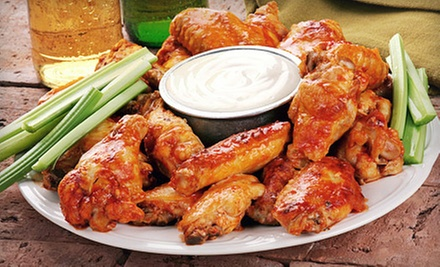 Wing and Pizza Meal or $10 for $20 Worth of Pub Food at RyMac&#x27;s Rub and Pub 