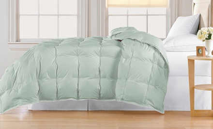 Hotel Peninsula Down Blend Comforters. Multiple Colors Available. Free Returns.