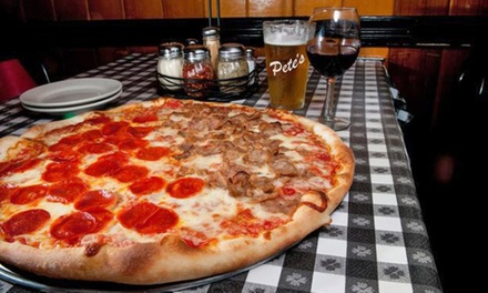Italian Cuisine for Two or Four or More, Valid Saturday Through Thursday at Pete's Tavern (Up to 44% Off)