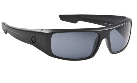 Spy Optic Logan Matte-Black Sunglasses