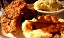 Soul Food at Dorsey's Locker (Half Off). Two Options Available.