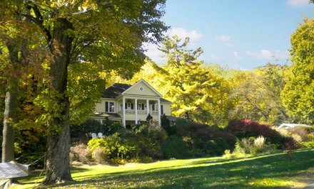 groupon daily deal - 2-Night Stay for Two at The Yellow House Bed & Breakfast in Waynesville, NC