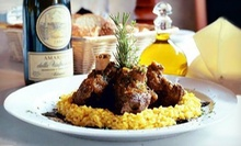 $25 for $50 Worth of Italian Dinner Cuisine and Drinks at La Tavola Ristorante Italiano 