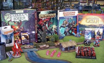 $10 for $20 Worth Games and Hobby Supplies at Evolution Gaming