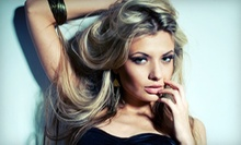 Haircut and Deep Conditioning with Optional Root Touchup or Partial or Full Highlights at A'Nue Salon (Up to 58% Off)