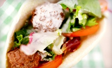 Middle Eastern Fusion Cuisine for Two or Four at Oasis Market & Grill (Half Off)