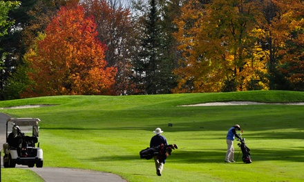 18-Hole Round of Golf for Two or Four and Cart Rental at Eastman Golf Links (Up to 46% Off)