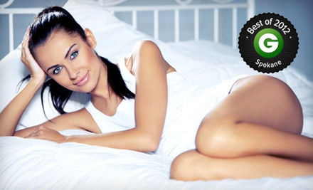 $129 for Two Laser Spider-Vein-Removal Treatments at Louisville Laser and Spa ($598 Value)