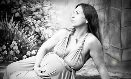 One-Hour In-Studio or Onsite Engagement or Maternity Photo Shoot from Jeff Tureaud Photography (Up to 76% Off)
