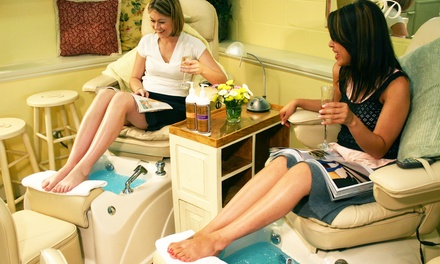 $31 for One Pinkies Mani-Pedi, Plus $20 Toward Jewelry at INPINK.com from Pinkies Nail Salons ($64 Value)