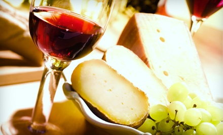 Wine and Cheese for Two or a Case of Assorted Wines from Pino&#x27;s Gift Basket Shoppe and Wine Cellar (Half Off)
