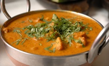 Indian Dinner with Wine or Soda for Two or Four at India Kitchen (Up to 52% Off)