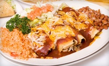 Mexican Food at Lupita's (Half Off). Two Options Available.