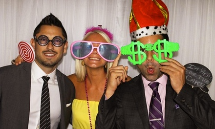 Four-, Five-, or Six-Hour Standard-Photo-Booth-Rental Package from America's Party Company (Up to 64% Off)