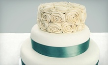 Three-Tiered Wedding Cake or $6 for $12 Worth of Cupcakes at Cupcasions