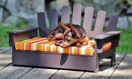 Pet Adirondack Chair with Pet Cushion
