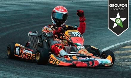 Pódio Imediato — Coina: corrida de kart indoor para uma ou duas pessoas por 12€