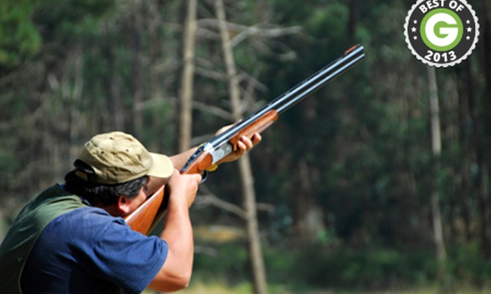 Suffolk Activities - Cambridge Shooting School: Clay Pigeon Shooting: Tutorial plus 30 clays from £25 at Suffolk Activities (44% Off)
