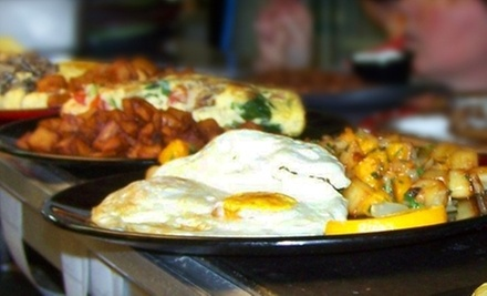 $10 for $20 Worth of Breakfast or Lunch Valid Any Day or Monday–Friday at Square Café