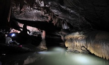 Half-Day Caving Adventure for Two, Four, or Six from River and Earth Adventures (Up to 56% Off)