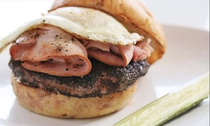 Burger Meal For Two Or Four For Lunch Or Dinner At Blanc Burgers + Bottles (up To 37% Off)