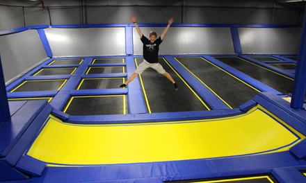 Two Hours of Jump Time for Two or Four or Birthday Party for Up to 12 at Springs Trampoline Park (Up to 67% Off)