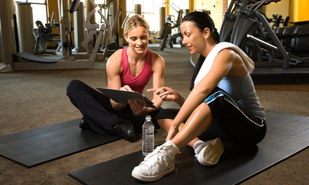 1, 3, or 5 Personal Training Sessions Including an Initial Evaluation at The Fitness Loft (Up to 79% Off)