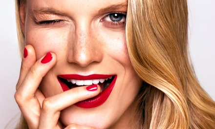 No-Chip Manicure and Pedicure Package from Izel Salon (50% Off)