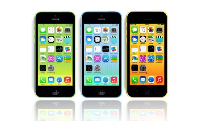 Net Service: iPhone 5c da 16 GB in 3 colori a 449 € invece di 629. Spedizione gratuita!