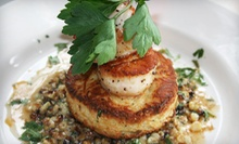$20 for $40 Worth of Bistro Cuisine and Drinks at Caf Luna 