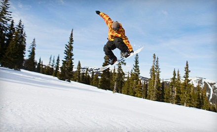 All-Day Ski-Lift Pass or Four-Hour Tubing-Lift Pass at Clear Fork Resort (Up to 57% Off)