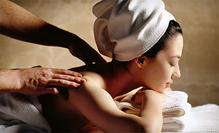 Swedish or Hot-Stone Massage at Celestial Healing Massage Therapy (51% Off)