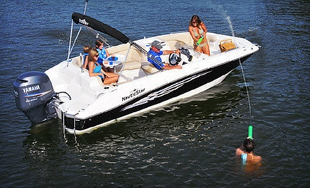 Four- or Eight-Hour Power- or Deck-Boat Rental or Two- or Three-Hour Weekday Boat Rental from Lotto Boat (Up to 73% Off)
