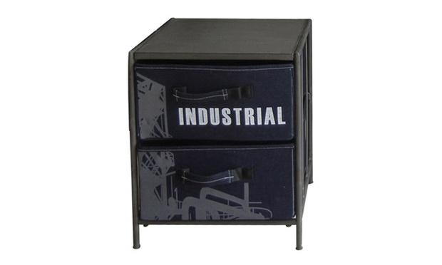 Meubles de style industriel groupon shopping for Meuble 8 casiers