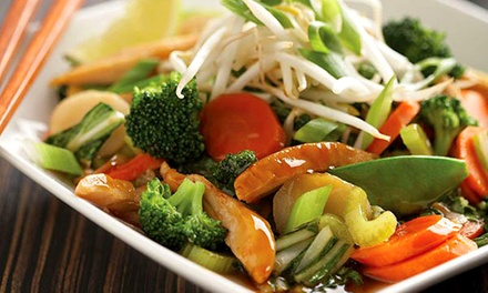 Fresh Asian Cuisine for Two or Four at Wok Box (Up to 47% Off)