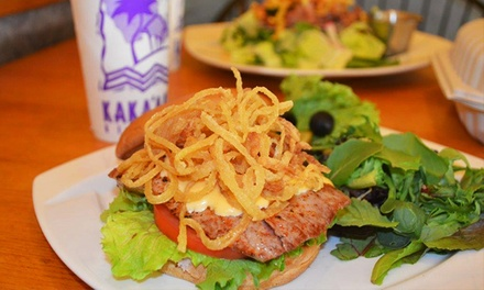 Hawaiian Local Cuisine at Kaka'ako Kitchen (Up to 34% Off). Two Options Available.