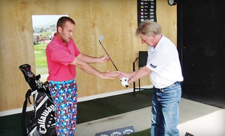 $30 for a 30-Minute Swing Evaluation and a Kahuna-Sized Bucket of Range Balls at World Beat Golf ($65 Value)