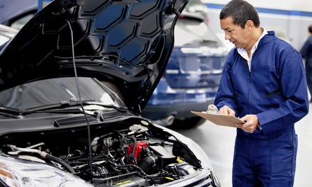 Virginia State Inspection, Emissions Test, or Both at Nationwide Tire & Auto (Up to 50% Off)