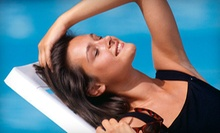 Two Mystic Tan Spray Tans or One Week of Unlimited UV Tanning in Any Level Bed at The Tan Company (Up to 58% Off)