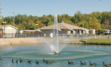 2- or 7-Night Stay for Two in an RV Site or Cottage at Indian Creek RV & Camping Resort in Geneva-on-the-Lake, Ohio
