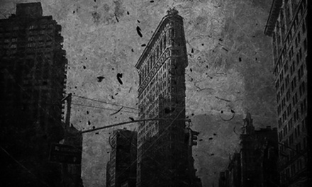 90-Minute Interactive Ghost Tour for Two, Four, or Six from Haunted Manhattan (47% Off)