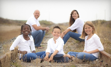 $59 for a Photo Shoot for Up to Six with One Print or Credit at Jesse Gabriel Photography ($335 Value)