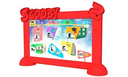 Tablet infantil Scooby-2 com capa protetora por 49,95€