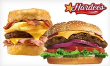 $5 for $10 Worth of Sandwiches and Frozen Treats at Hardee's