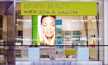 Facial Treatment with Microdermabrasion Treatment at Renew Beauty Med Spa (80% Off). Two Options Available.
